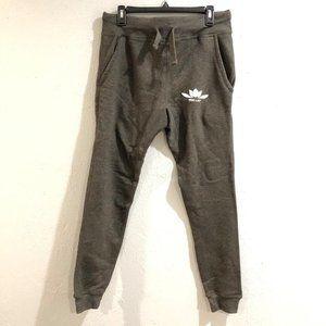 Iron Lily | NWOT Gray Drawstring Jogger Pants